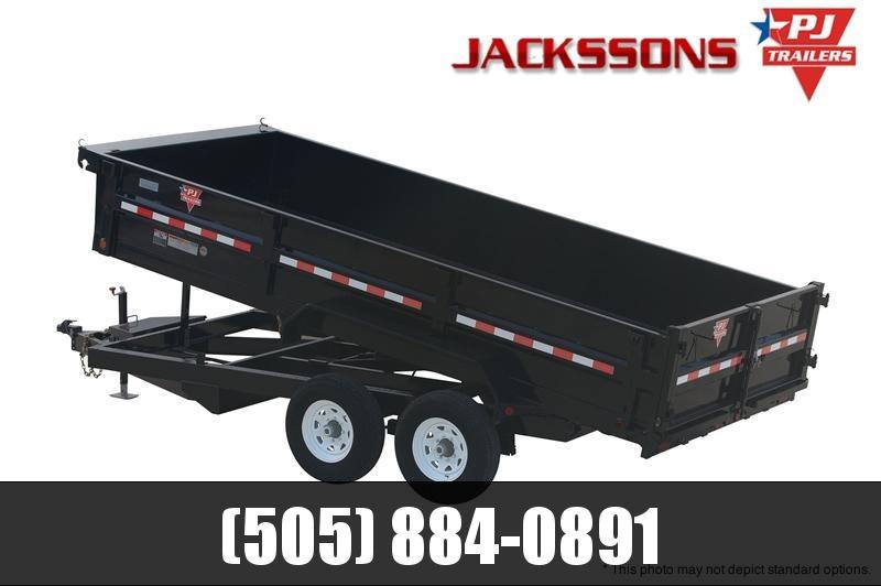 "2019 PJ Trailers 16' x 83"" XL Dump Trailer in Ashburn, VA"