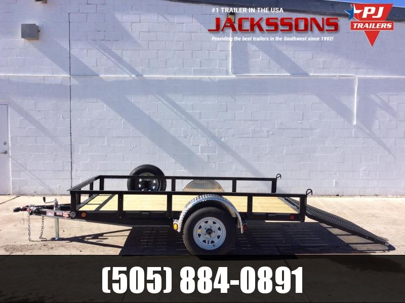"2019 PJ Trailers 8' x 60"" Channel Utility Trailer in Ashburn, VA"