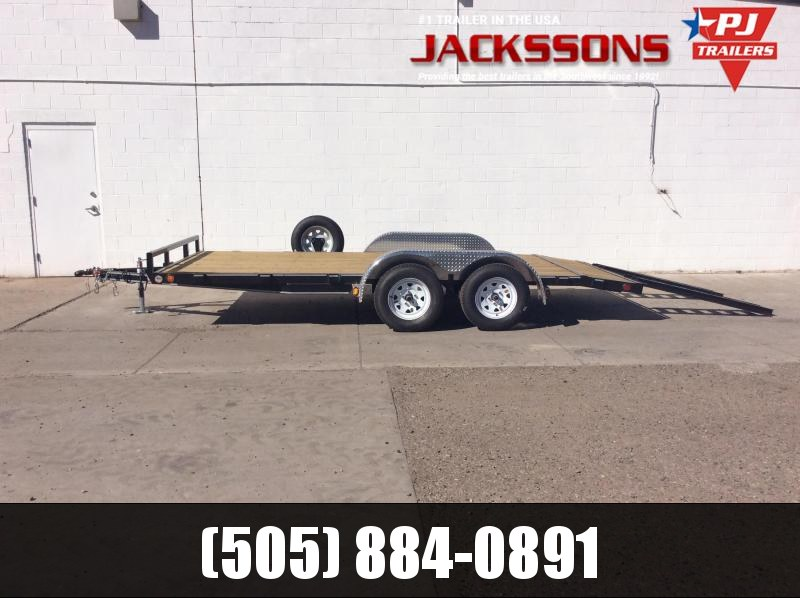 "2019 PJ Trailers 18' x 4"" Channel Carhauler Trailer in Ashburn, VA"