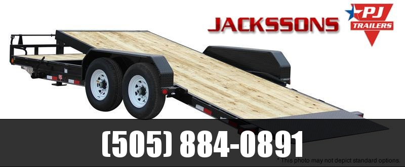 "2017 PJ Trailers 24' x 6"" Channel Equipment Tilt Trailer"