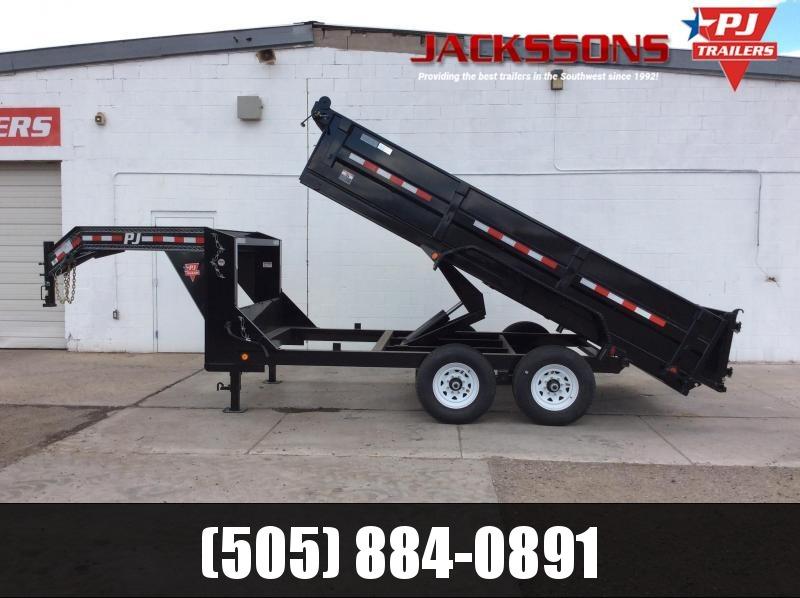 "2019 PJ GN 14' x 83"" Tandem Axle Dump Trailer in Ashburn, VA"