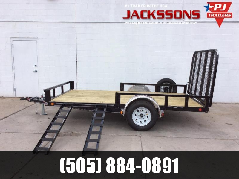 "2018 PJ Trailers 14' x 77"" Channel Utility Trailer in Ashburn, VA"