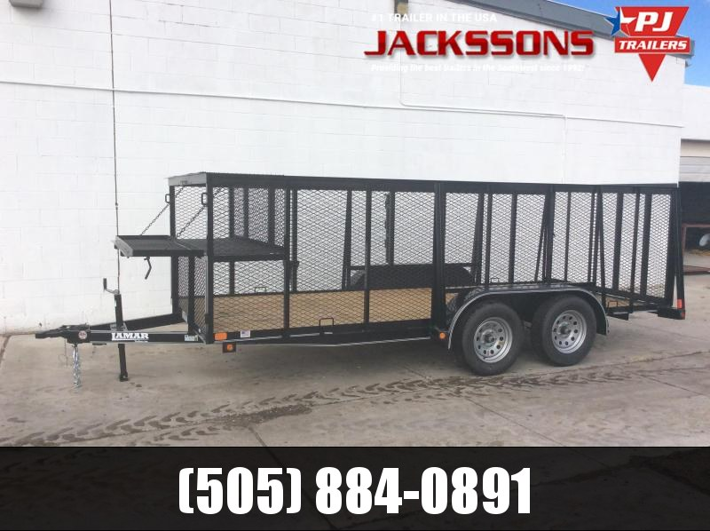2019 Lamar Trailers 16FT LANDSCAPE Flatbed Trailer