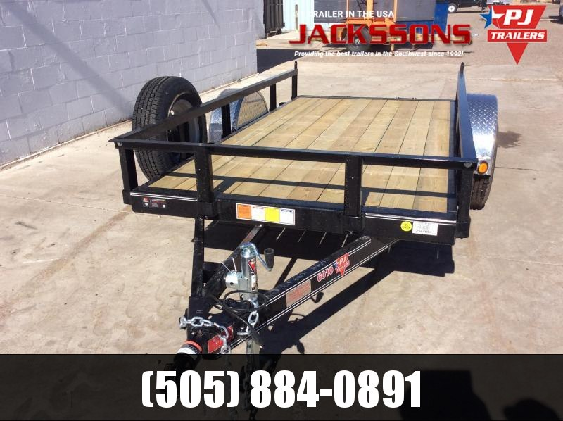 "2018 PJ Trailers 10' x 60"" Channel Utility Trailer in Ashburn, VA"