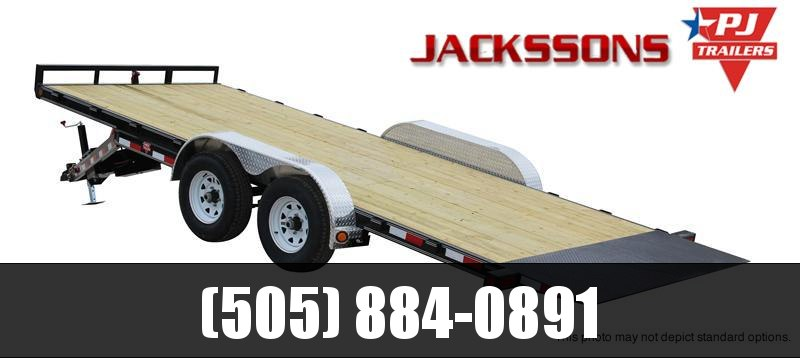 "2019 PJ Trailers 20' x 83"" Hydraulic Quick Tilt Trailer"