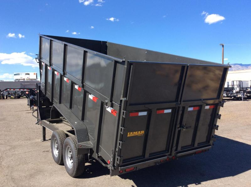 2018 Lamar 16FT  DUMP TRAILER