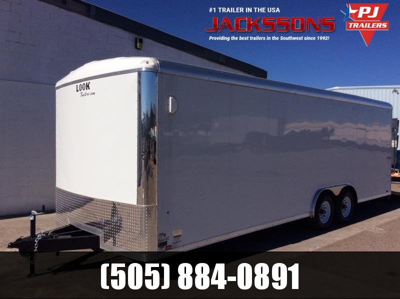 2019 24FT Look Trailers VISION Enclosed Cargo Trailer in NM