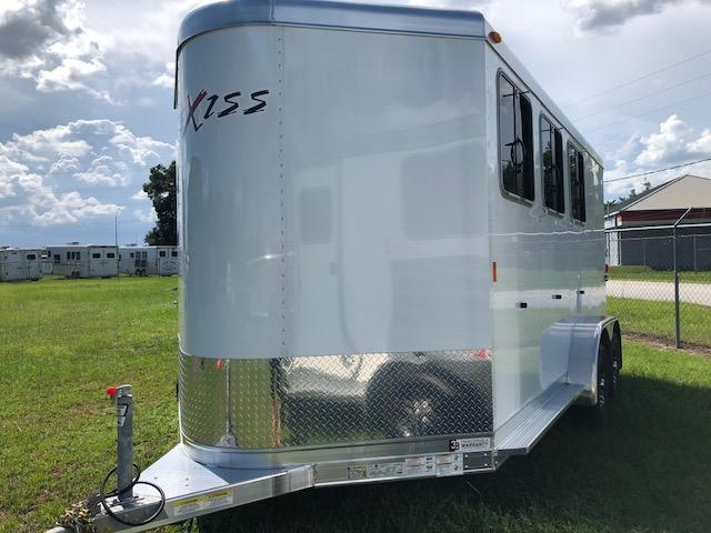2018 Exiss Trailers 3 horse w/ dressing room (model SS) Horse Trailer