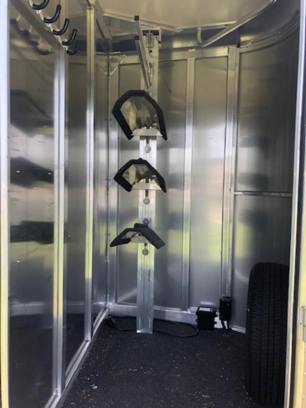 2018 Hart Trailers 2 horse bumper pull w/dressing room Horse Trailer