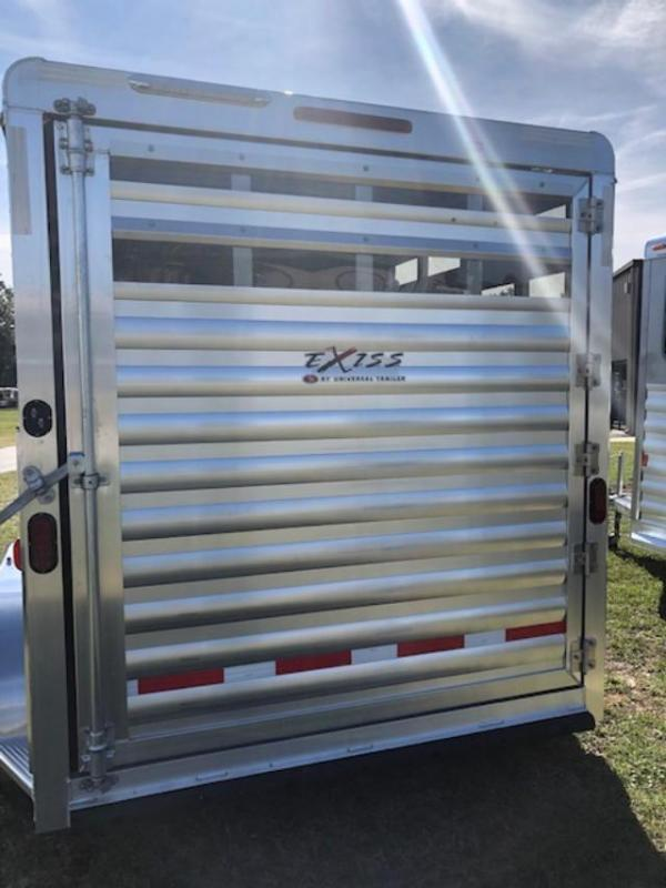 2019 Exiss Trailers 2 horse slant cxf with dressing room Horse Trailer