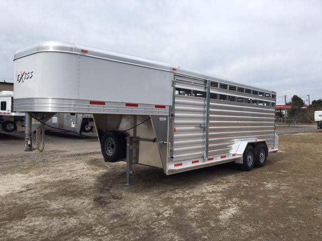2018 Exiss Trailers stock 20 Livestock Trailer