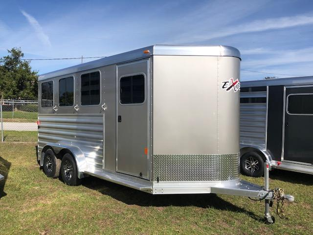 2019 Exiss Trailers 3 horse bumper pull XT Horse Trailer