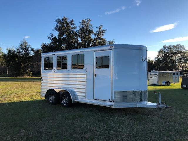 2017 Exiss Trailers 3 horse bumper pull XT Horse Trailer