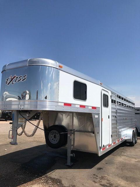 2019 Exiss Trailers stock combo 24 Horse Trailer in Ashburn, VA