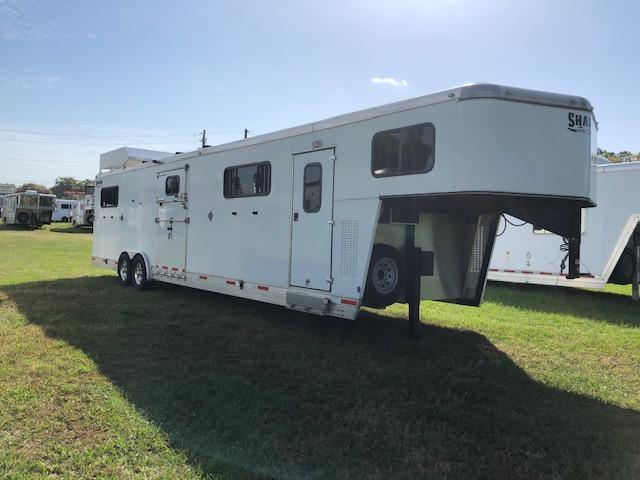 2015 Shadow Trailers 6 horse head to head Horse Trailer