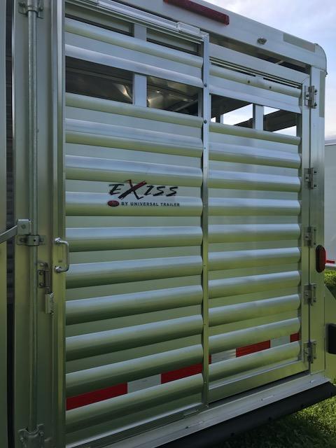 2019 Exiss 20 stock combo Horse Trailer