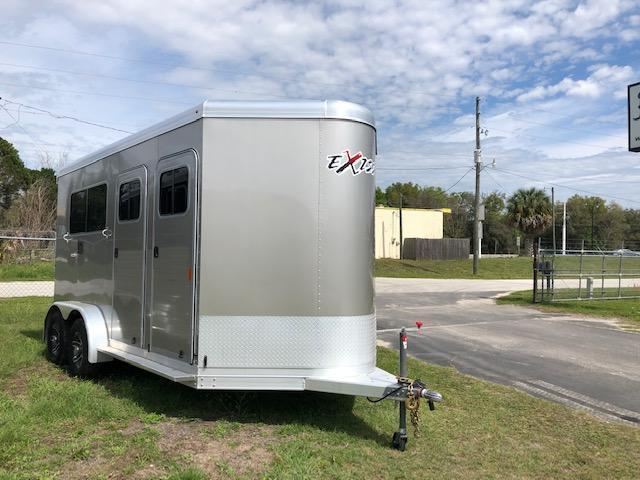 2019 Exiss Trailers 2 horse straight load bumper pull (model 724) Horse Trailer in Ashburn, VA
