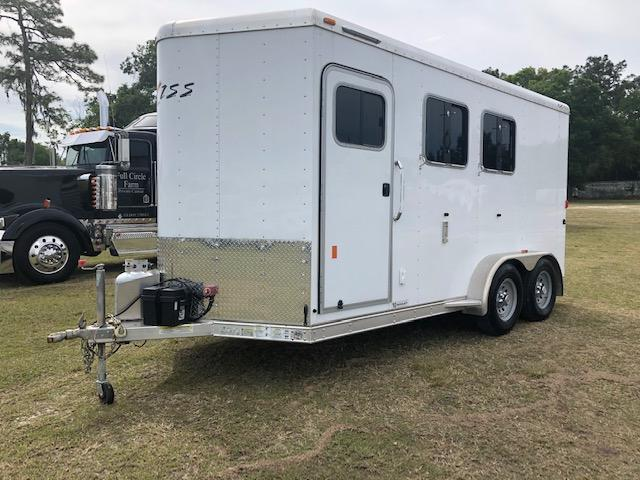 2016 Exiss Trailers 2 horse weekender Horse Trailer