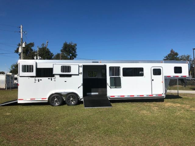2019 Exiss Trailers 4 horse head to head w/ dr Horse Trailer