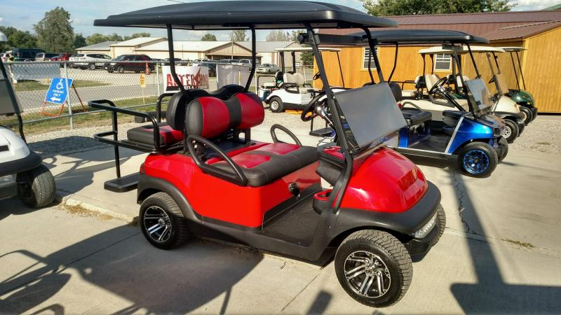 2013 Club Car Precedent Golf Cart | Defiance OH Golf Carts and ... Red Golf Cart Seats With Back Html on