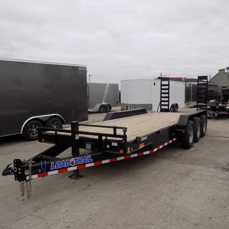 "New Load Trailer CH21 83"" x 22' Open Car Hauler / Equipment Trailer - 21K Weight Rating"