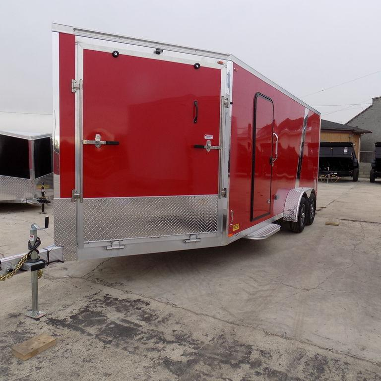 New Legend Explorer 7' x 23' Aluminum Snowmobile Trailer For Sale
