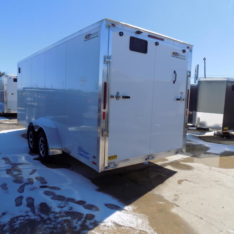 New Legend Thunder 7' X 20' Aluminum Enclosed cargo Trailer
