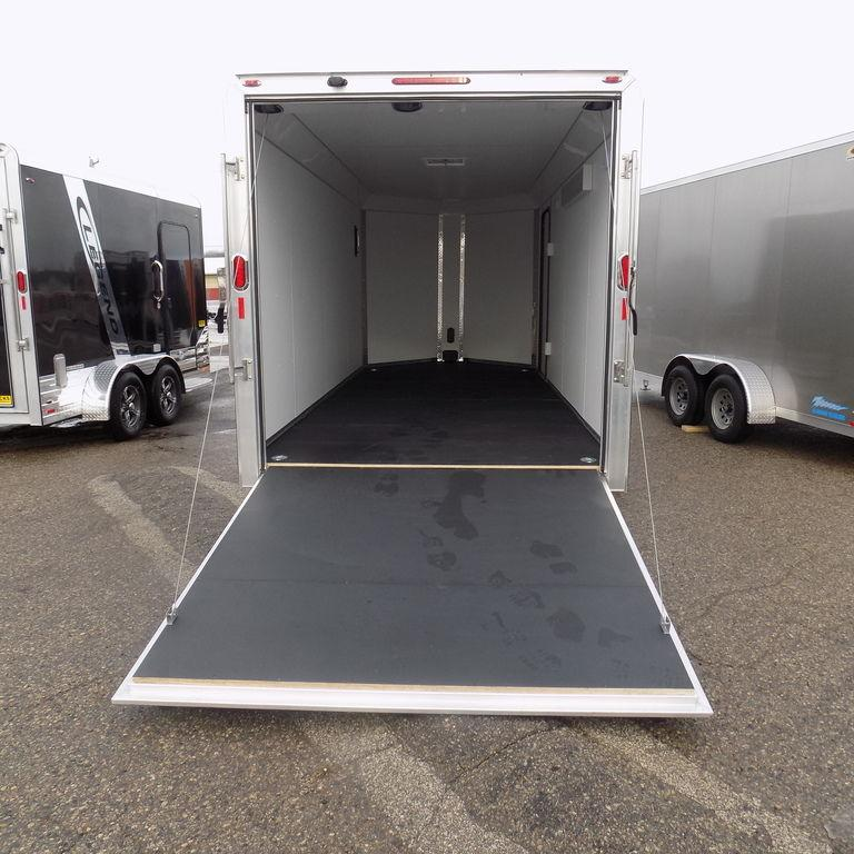 New Legend Trailers Deluxe V-Nose 7' x 19' Aluminum Enclosed Cargo Trailer For Sale