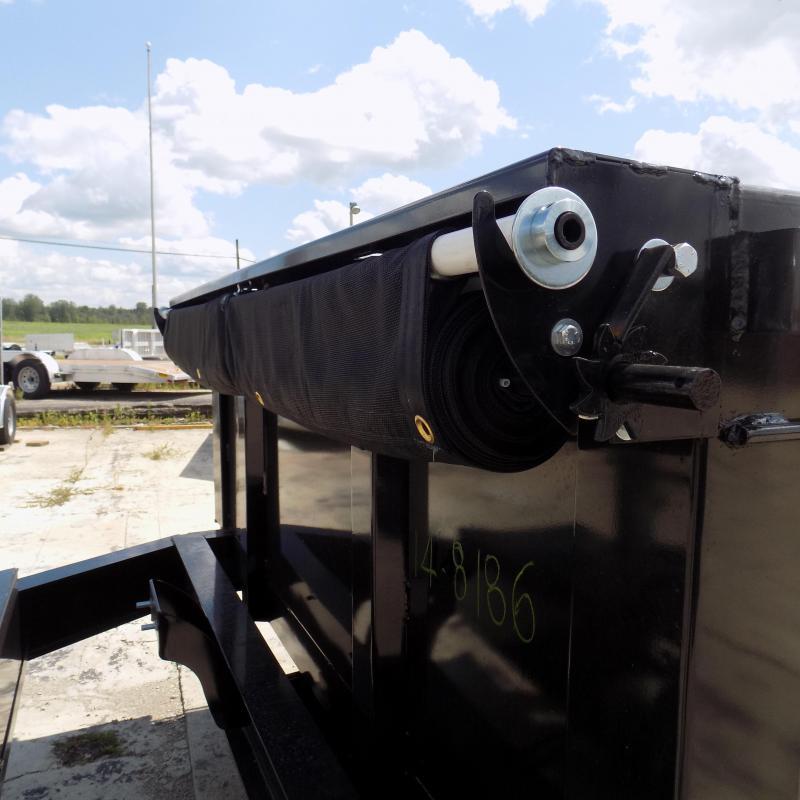 "New Diamond C Trailers 82"" x 14' Low Profile Dump Trailer With 10K Torsion Axles"