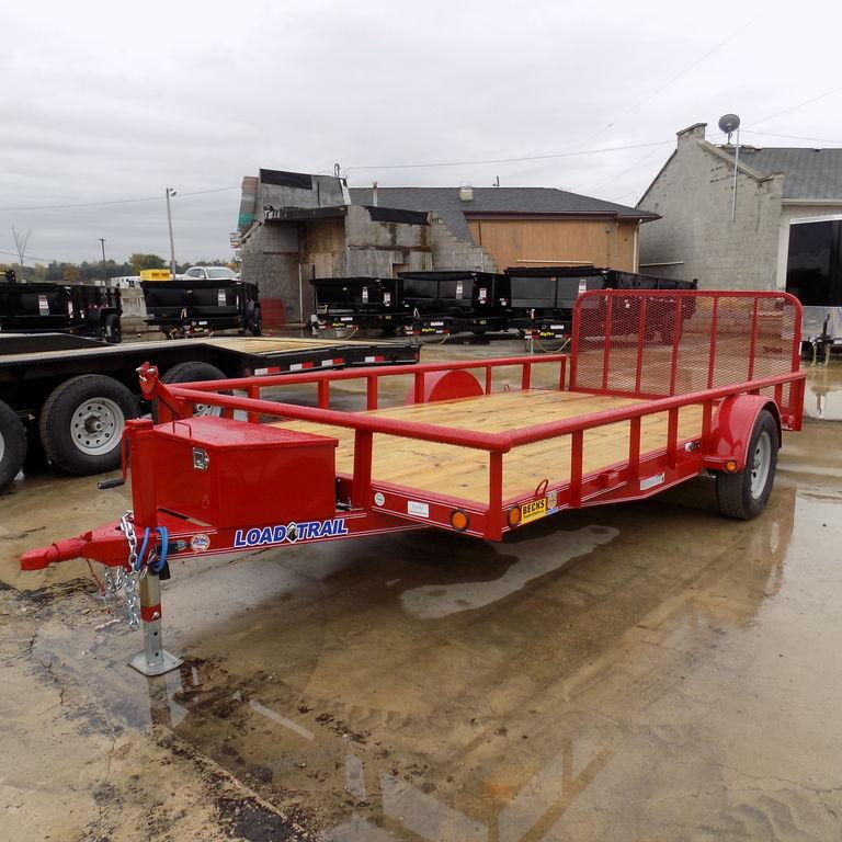"New Load Trail SB03 83"" x 14' Open Utility Trailer for Sale"