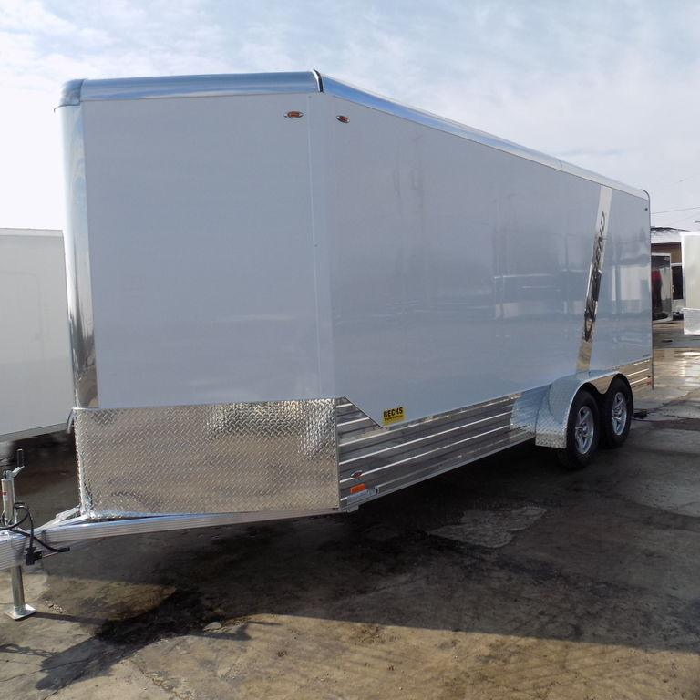 New Legend Deluxe 7' x 21' Aluminum Enclosed Cargo Trailer