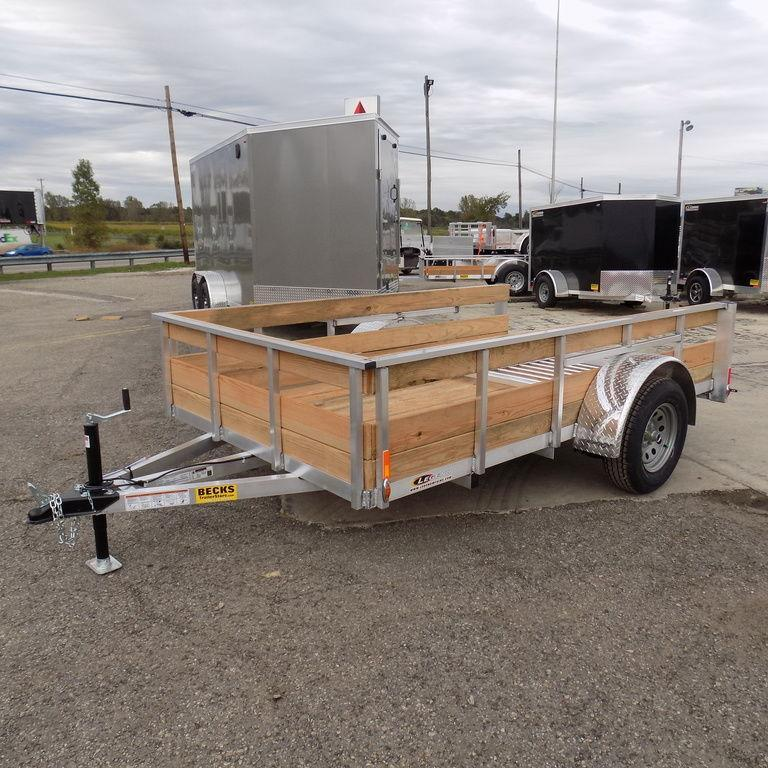 New Legend 6' x10' Aluminum 3 Board High Side Utility Trailer in Ashburn, VA