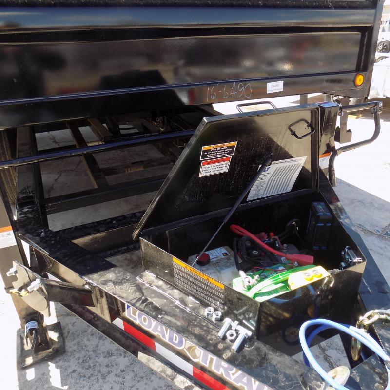 "New Load Trail 96"" x 14' Triple Axles Deckover Dump Trailer - Pintle"