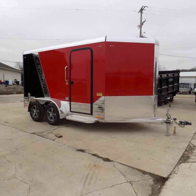 New Legend Trailers Deluxe V Nose Cargo 7X15DVNTA