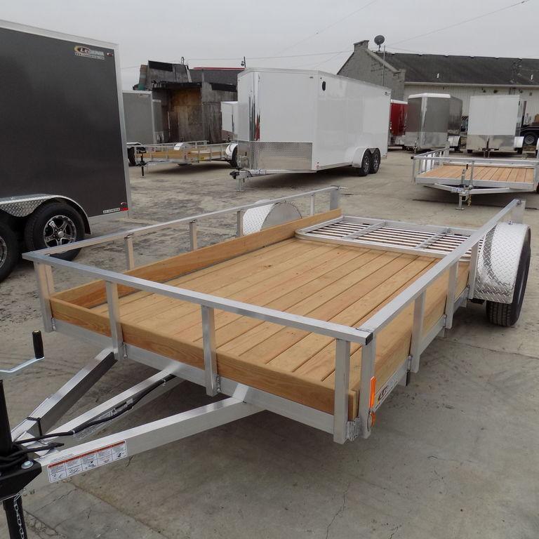 New Legend Trailers Aluminum 1 Board Low Side 6X12ALLSSA30