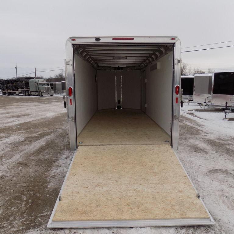 New Legend Deluxe V-Nose 7' x 21' Aluminum Enclosed Cargo Trailer For Sale