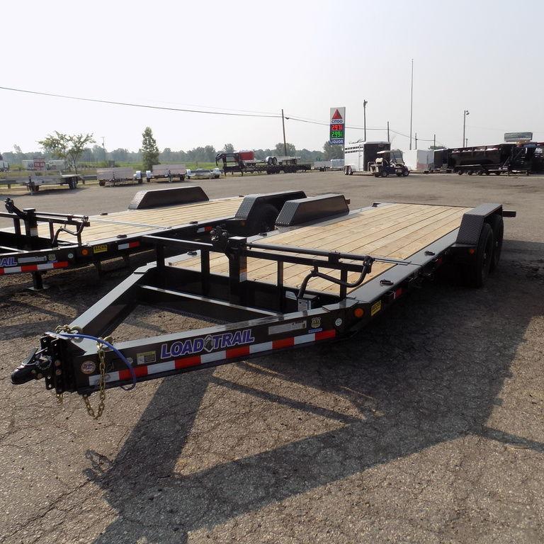 "New Load Trail TH14 83"" x 20' Tilt Deck Trailer"