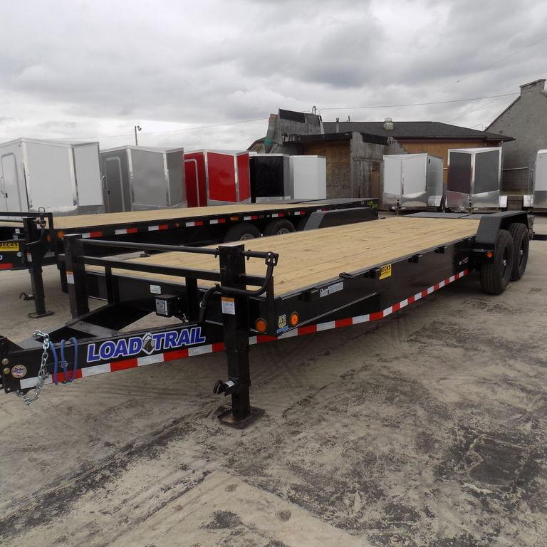 "New Load Trailer CH14 83"" x 24' Open Car Hauler / Equipment Trailer - 14K Weight Rating in Ashburn, VA"