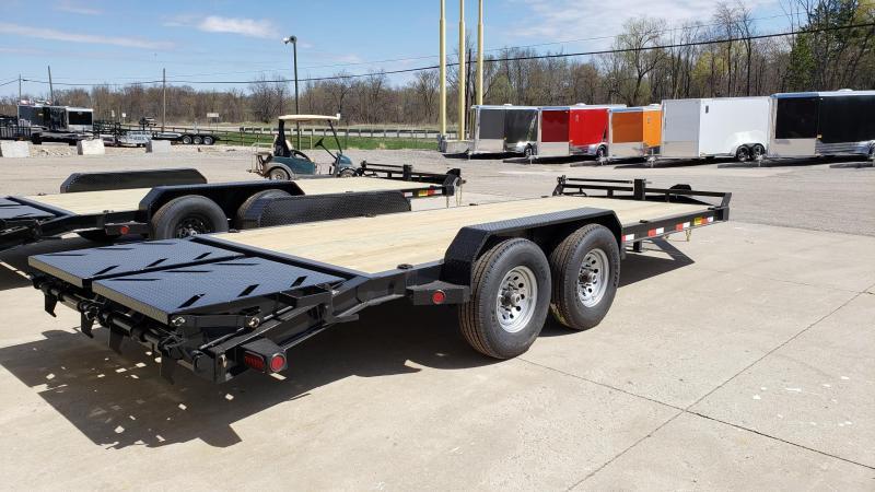 "New Iron Bull EHB 83"" x 20' Equipment Trailer with 8K Dexter Axles in Ashburn, VA"