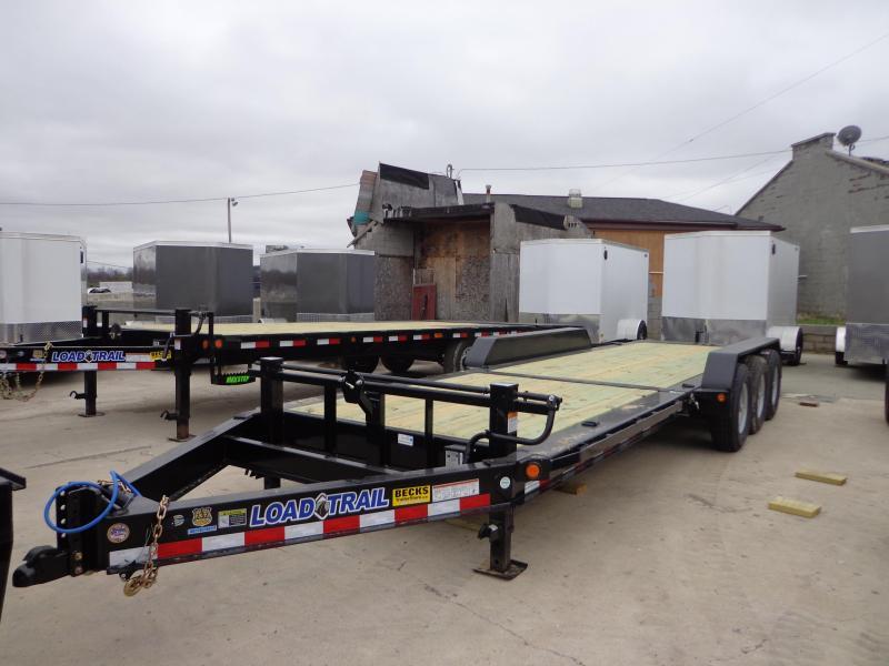 "ew Load Trail TH14 83"" x 24' Tilt Deck Trailer - Triple Axle"