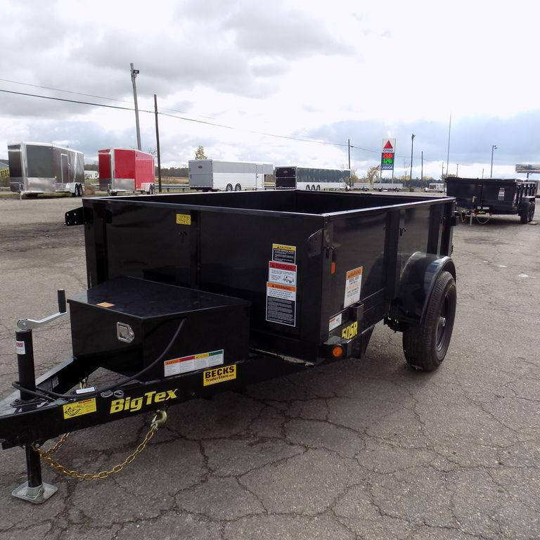 New Big Tex Trailers 5' x 8' Dump Trailer for Sale