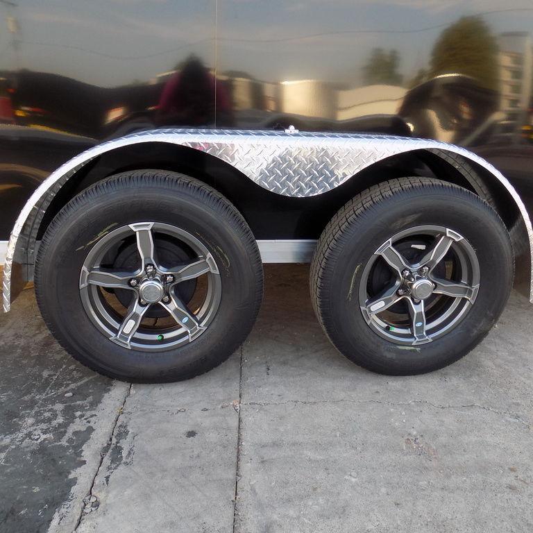 New Legend Thunder 7' x 23' Aluminum Snow / ATV Trailer For Sale