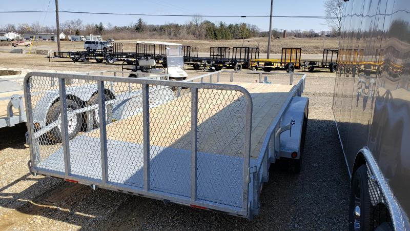 "New Galvanized 83"" x 20' Utility Landscape Trailer for Sale"