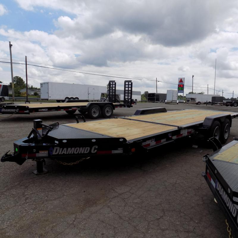 "New Diamond C Trailers 82"" x 24"" Tilt Deck Trailer - 10K Axles"