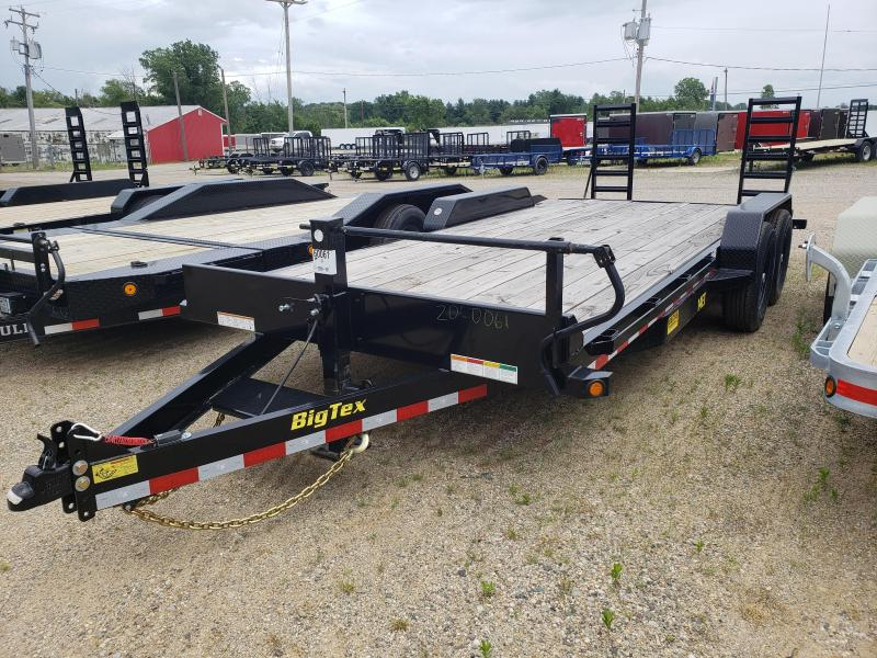"""New Big Tex 83"""" x 20' Equipment Trailer For Sale"""