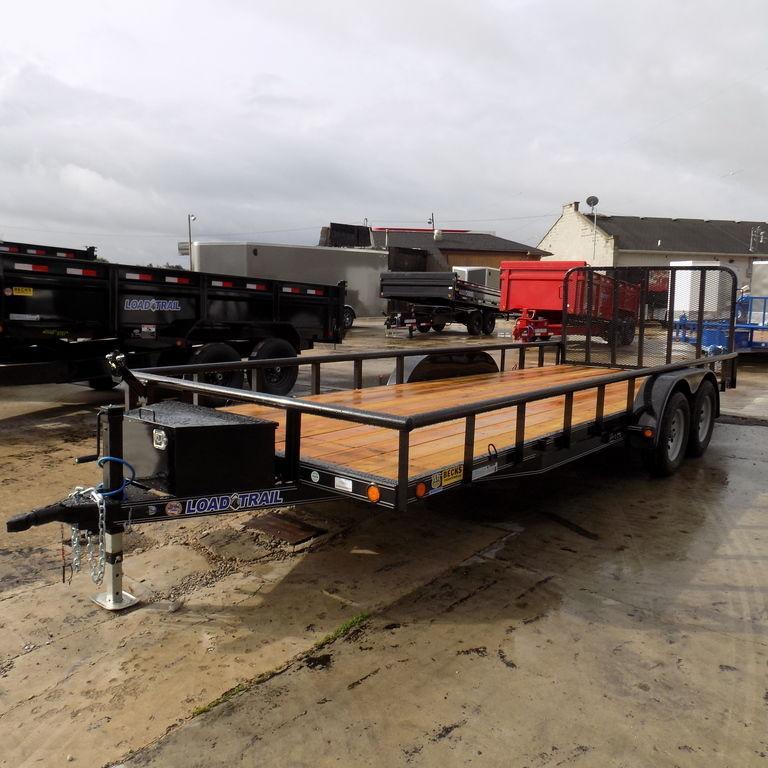 "New Load Trail UT 83"" x 20' Open Utility Trailer On Sale"