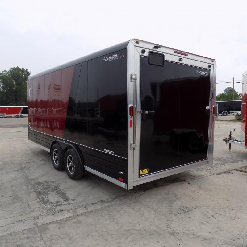 New Legend Deluxe V-Nose 8' x 21' Enclosed Cargo Trailer - LOADED!