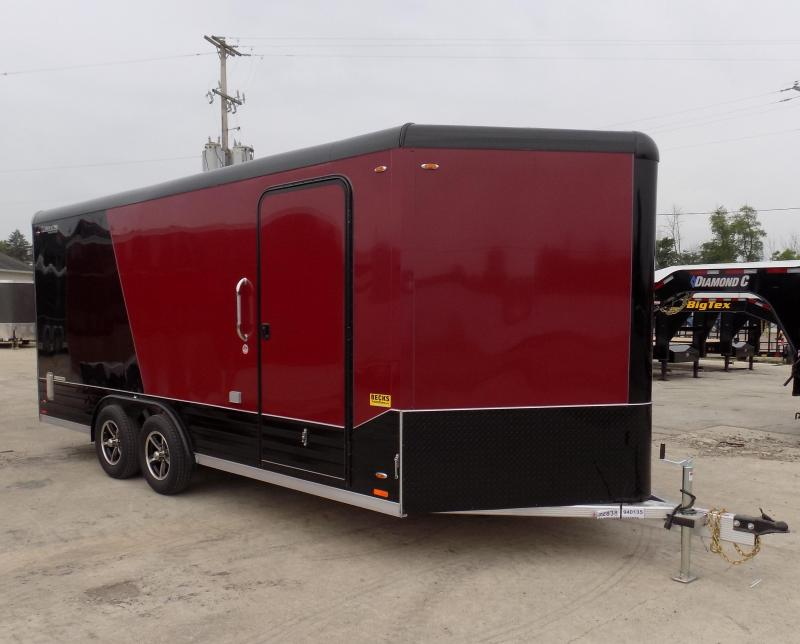 New Legend Deluxe V-Nose 8' x 21' Enclosed Cargo Trailer - LOADED!