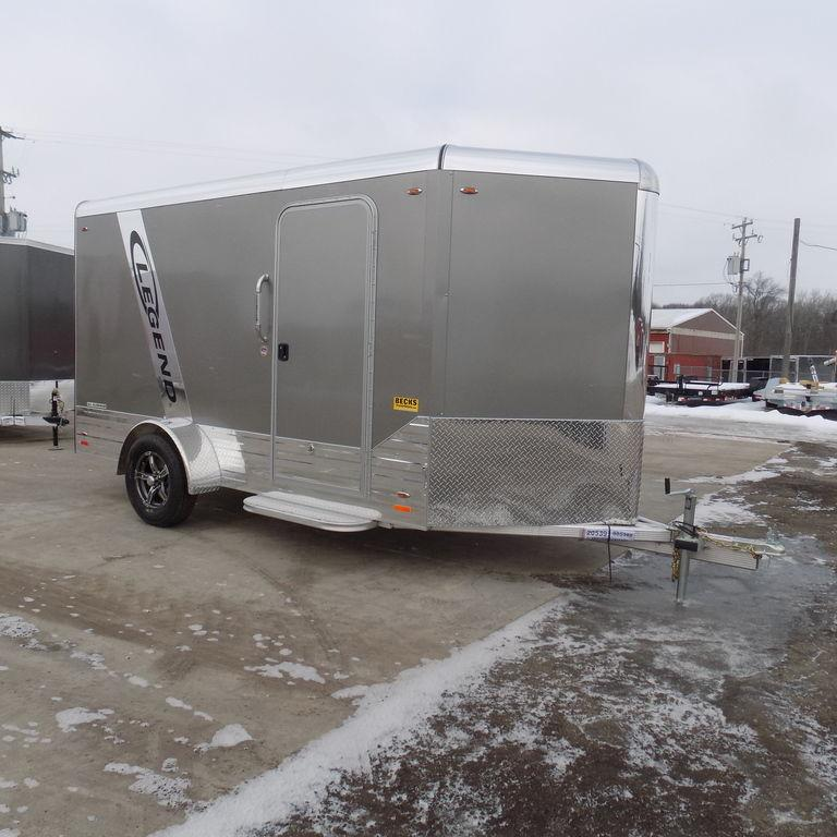 New Legend Trailers Deluxe V Nose Cargo 6X15DVNSA