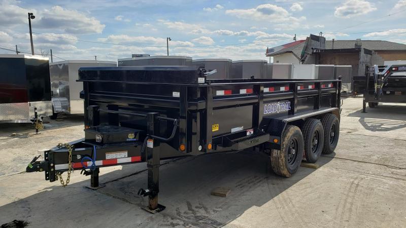 "New Load Trail 83"" X 16' Triple Axle Dump Trailer"